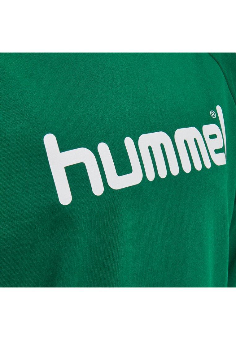 Hummel - GO LOGO - Sweatshirt - evergreen