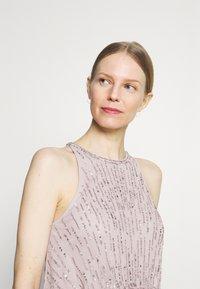 Adrianna Papell - BEADED BLOUSON GOWN - Suknia balowa - marble - 3