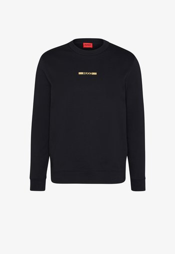 DICAGO METALLIC UNISEX - Sweatshirt - black/gold