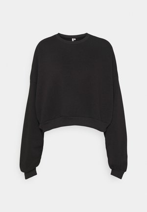 CHUNKY SLEEVE - Sweatshirt - black