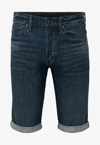 Jeansshorts - otas stretch denim - worn in blue stone