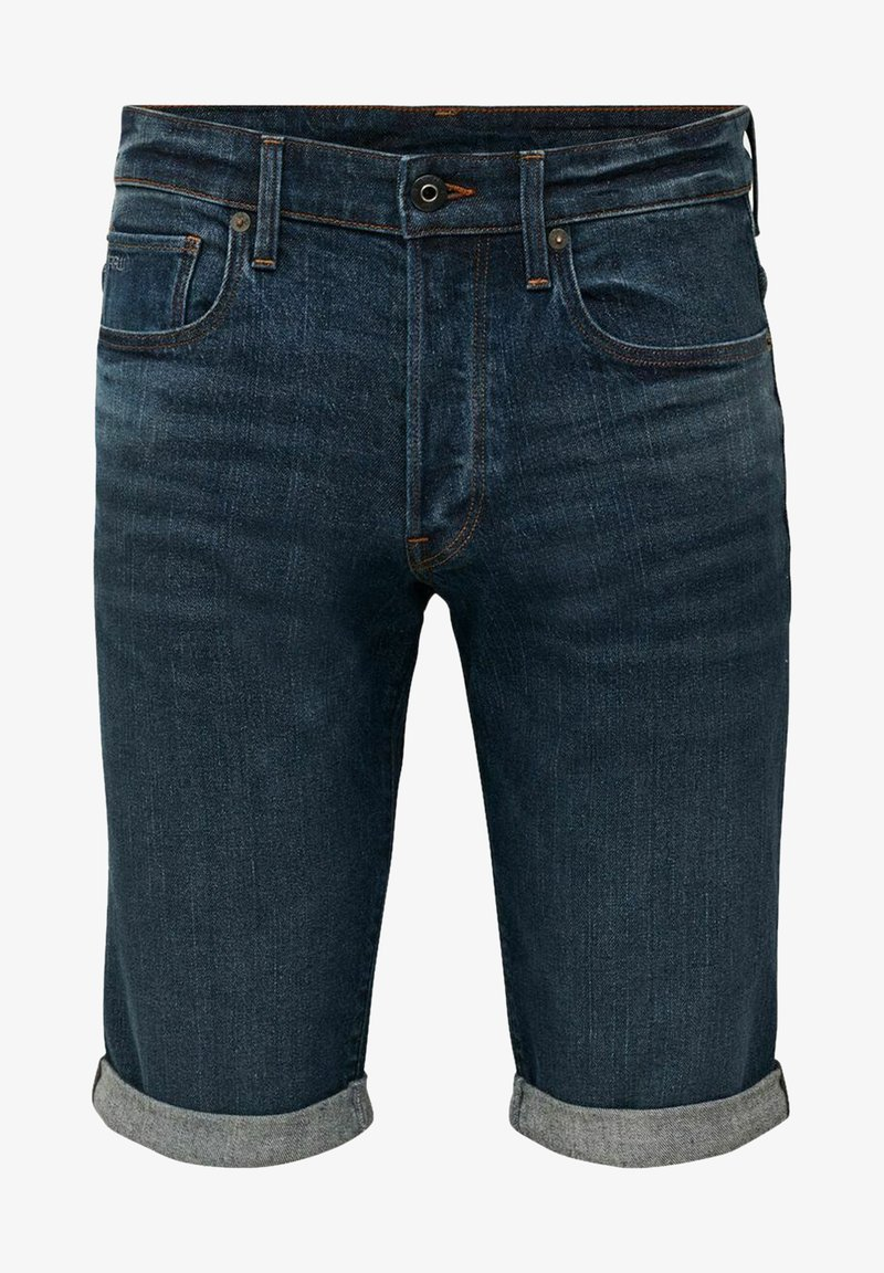 G-Star - Denim shorts - otas stretch denim - worn in blue stone