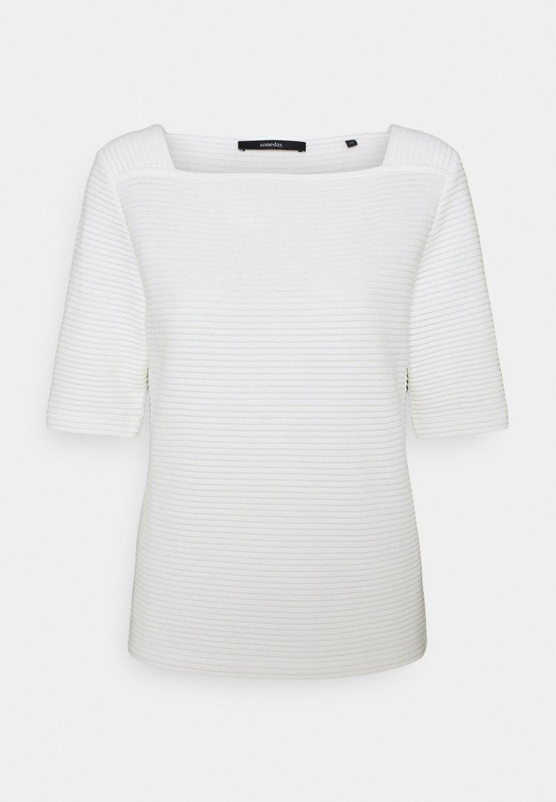 someday. - KELOSIA - Print T-shirt - milk