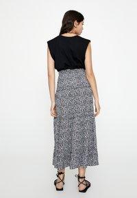 PULL&BEAR - Maxi skirt - black - 2