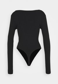 Missguided Tall - LONG SLEEVE BODYSUIT 2 PACK - Longsleeve - black/mauve - 3