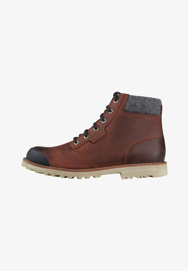 THE SLATER II - Bottines à lacets - fawn