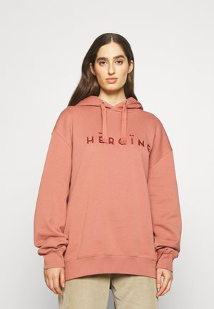 HOODIE EMBROIDERY - Sweater - rosé