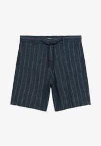 Mango - Shorts - dunkles marineblau - 6