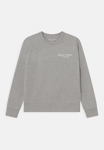 Sweatshirt - stone grey melange