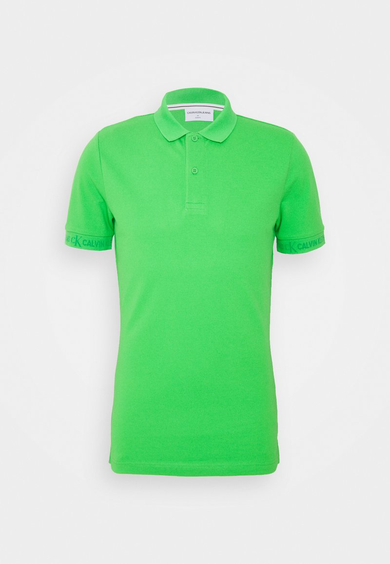Calvin Klein Jeans - LOGO - Pikeepaita - acid green