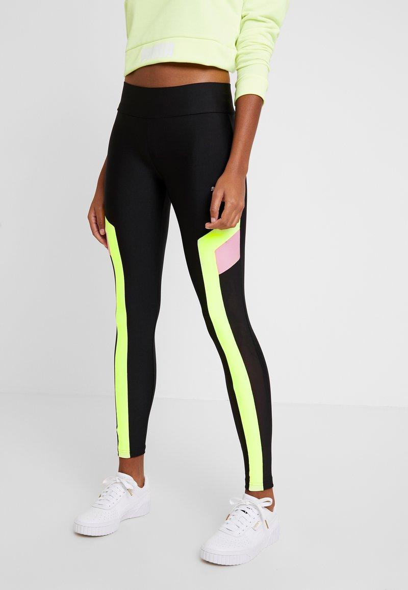Puma - CHASE - Leggings - Trousers - black