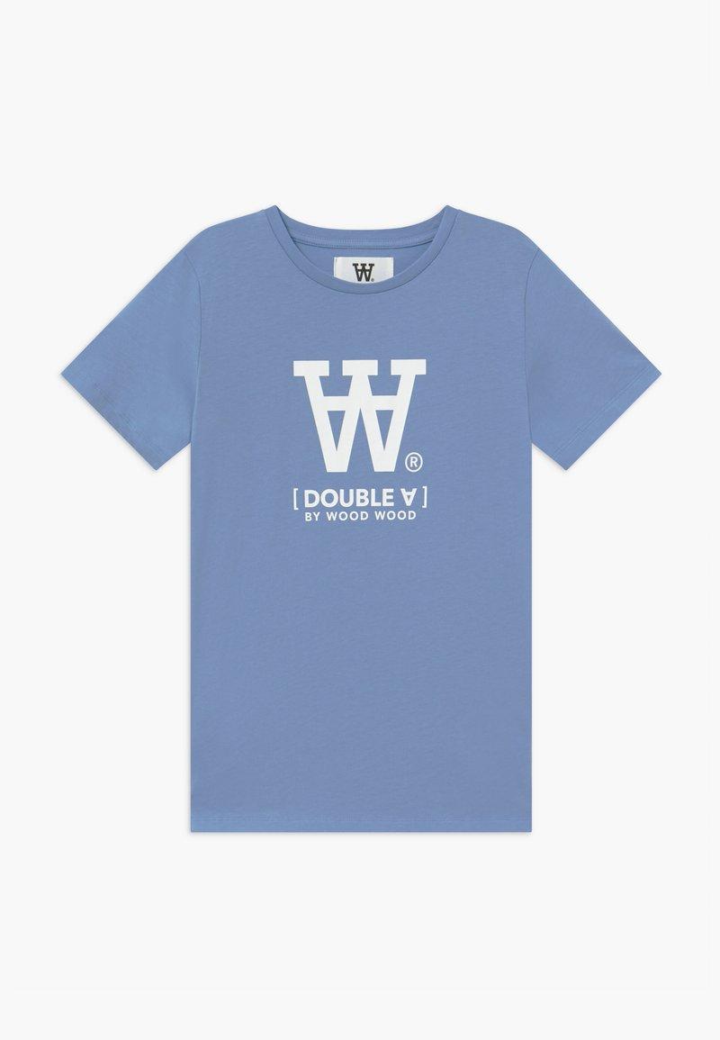 Wood Wood - OLA KIDS - Camiseta estampada - sky blue
