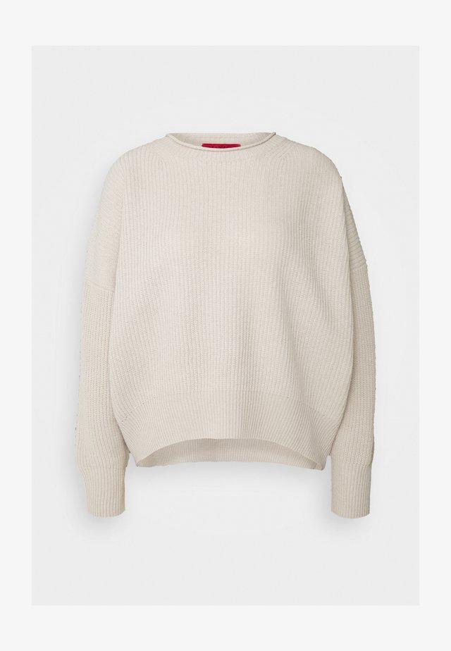 CESENA - Stickad tröja - beige