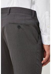 Next - SUIT TROUSERS - Suit trousers - mottled dark grey - 2