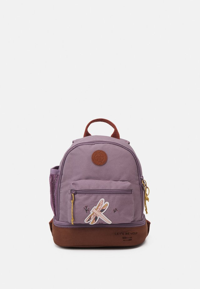 MINI BACKPACK ADVENTURE DRAGONFLY UNISEX - Tagesrucksack - lilac