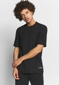 adidas Performance - T-shirts basic - black - 0