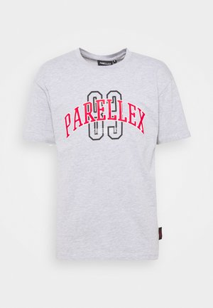 STATE TEE - T-shirt med print - grey marl