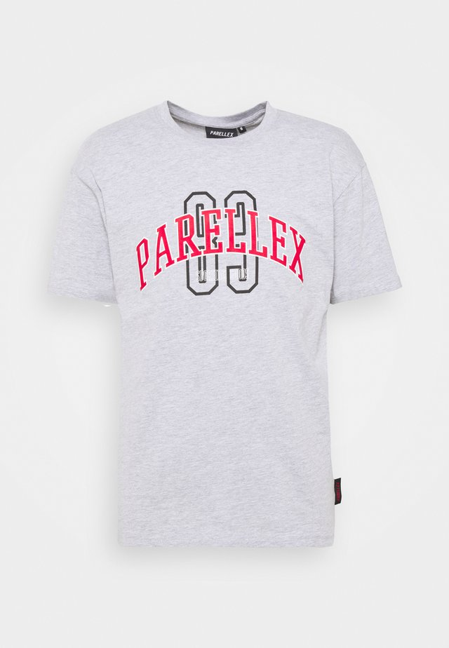 STATE TEE - T-shirt con stampa - grey marl
