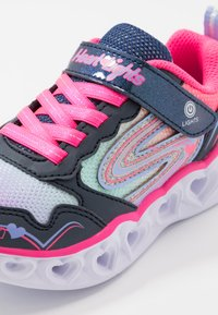Skechers - HEART LIGHTS - Tenisky - navy - 5