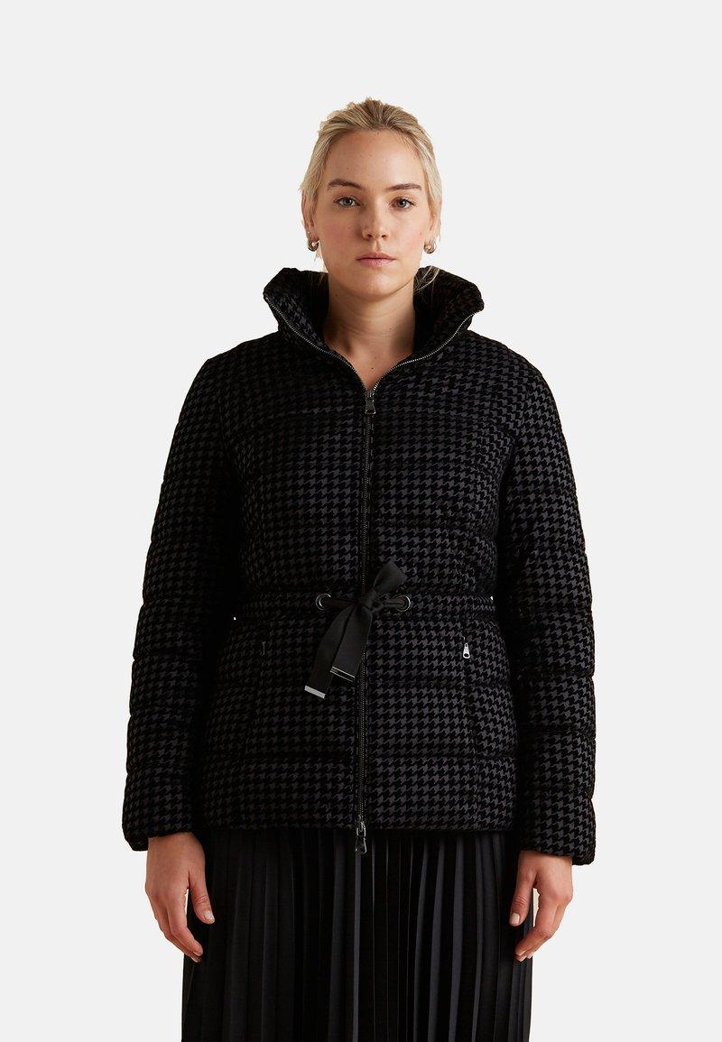 Elena Mirò - Winter jacket - nero