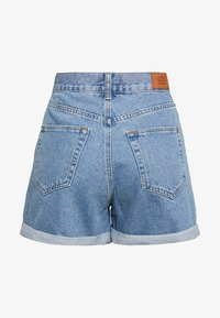 BDG Urban Outfitters - ROLLED MOM SHORT - Jeans Shorts - dark vintage - 1