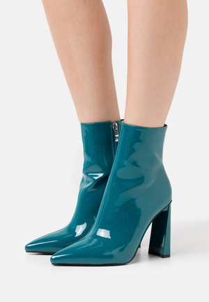 ELEXIS - Bottines à talons hauts - blue