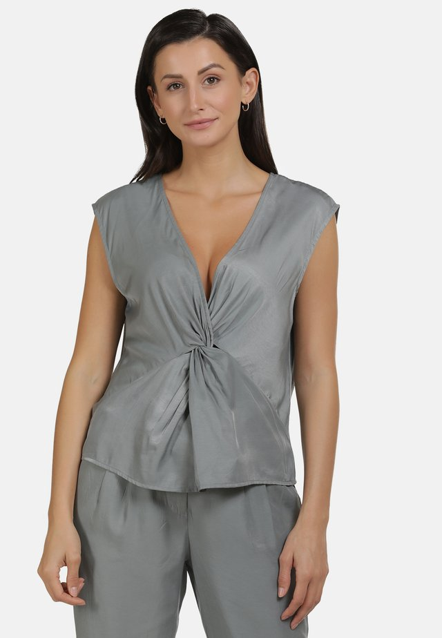 BLUSE - Blouse - grey