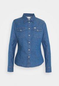 Lee - SLIM WESTERN - Button-down blouse - blueprint - 4