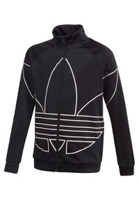 adidas Originals - LARGE TREFOIL TRACK TOP - Trainingsjacke - black - 2