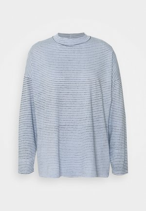 STRIPE - Long sleeved top - white/blue