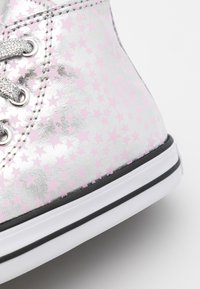 Converse - CHUCK TAYLOR ALL STAR - Sneakers alte - silver/pink glaze/white - 5