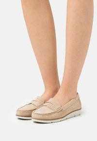 Anna Field - LEATHER - Instappers - beige - 0