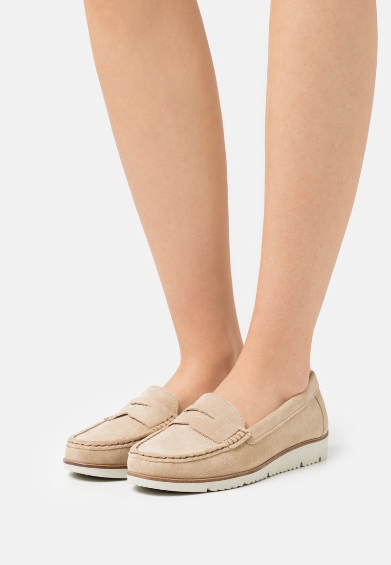 Anna Field - LEATHER - Instappers - beige