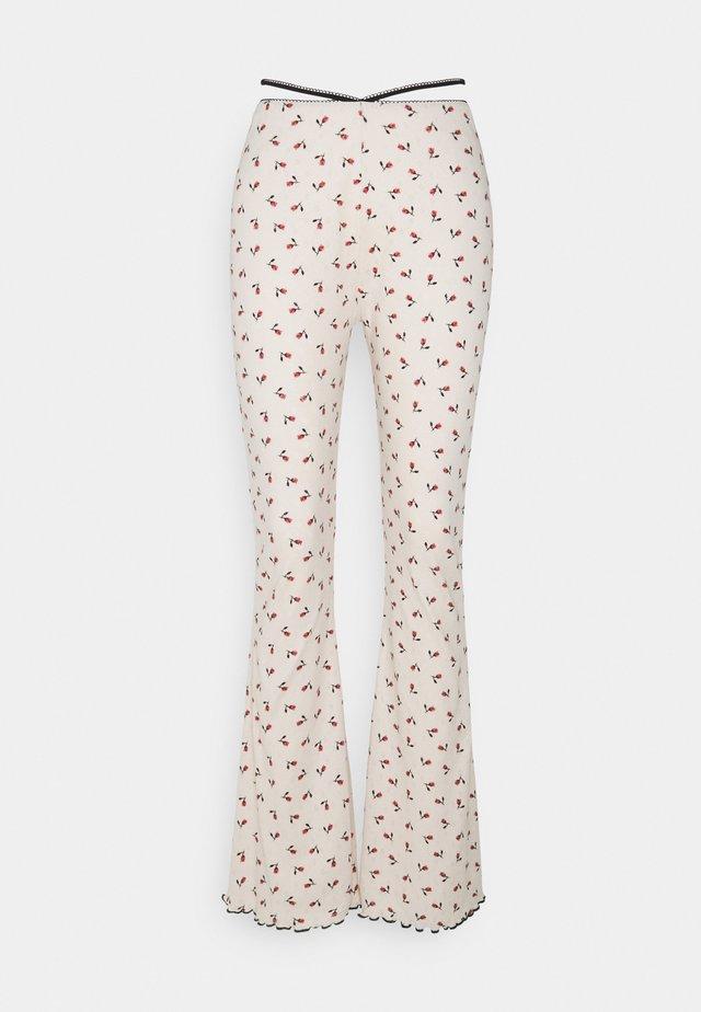 BLOSSOM PANT - Pantaloni - offwhite