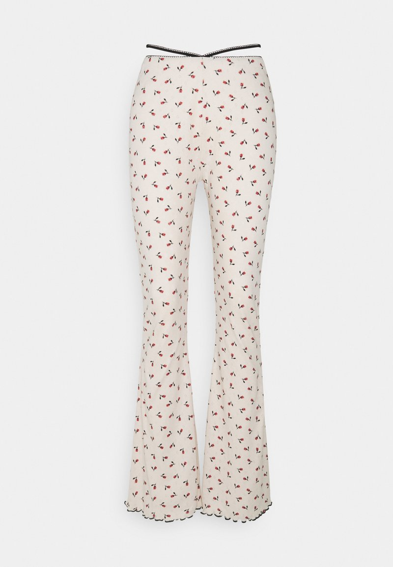 Milk it - BLOSSOM PANT - Trousers - offwhite