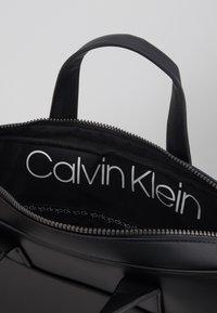 Calvin Klein - CENTRAL LAPTOP BAG - Briefcase - black - 4
