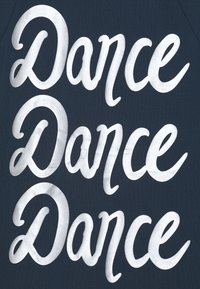 adidas Performance - DANCE - T-Shirt print - crew navy/silver - 2