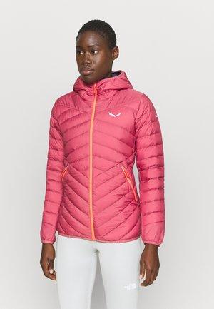 BRENTA - Down jacket - mauvemood