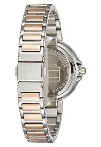 Tommy Hilfiger - DRESSED - Ure - silver-coloured/roségold-coloured - 2