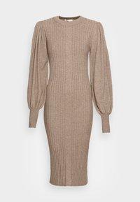 Moss Copenhagen - RACHELLE DRESS - Strikket kjole - dune melange - 3