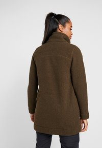 Columbia - PANORAMA LONG JACKET - Fleecová bunda - olive green - 2