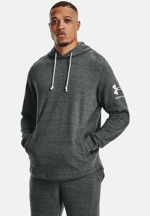 RIVAL TERRY  - Hoodie - pitch gray full heather