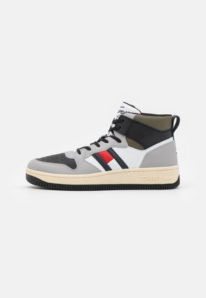 BASKET CUPSOLE - Sneakersy wysokie - sterling grey