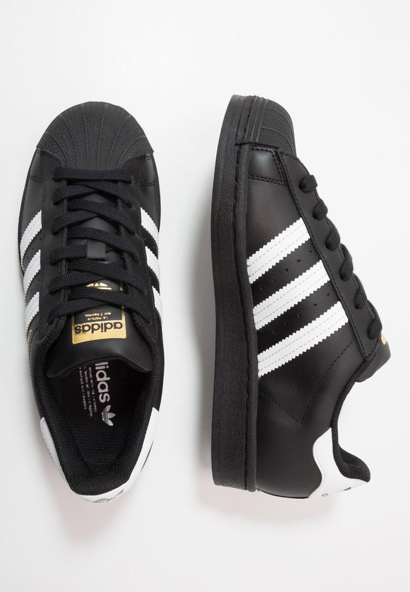adidas Originals - SUPERSTAR  - Sneakers - core black/footwear wihte