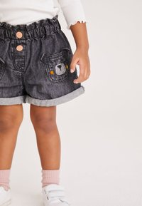 Next - Denim shorts - grey denim - 3