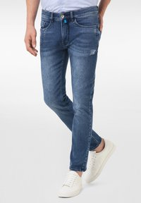 Pierre Cardin - LYON - Jeans Tapered Fit - mid blue - 0