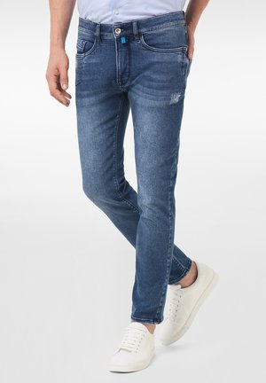 LYON - Jeans Tapered Fit - mid blue