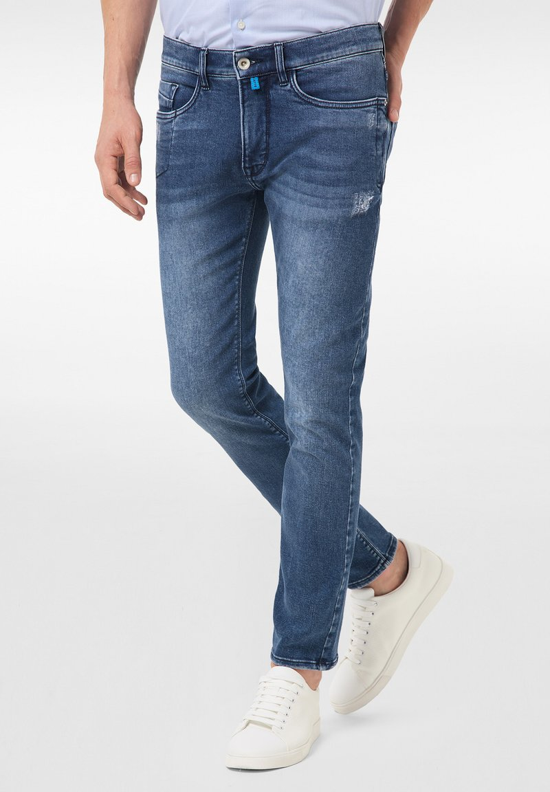 Pierre Cardin - LYON - Jeans Tapered Fit - mid blue