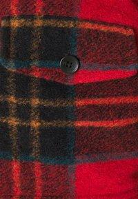 Scotch & Soda - TARTAN CHECK JACKET WITH TEDDY COLLAR - Light jacket - combo a - 2