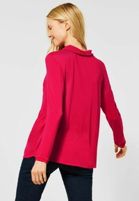 Cecil - MIT CUPRO-MIX - Blouse - rot - 0